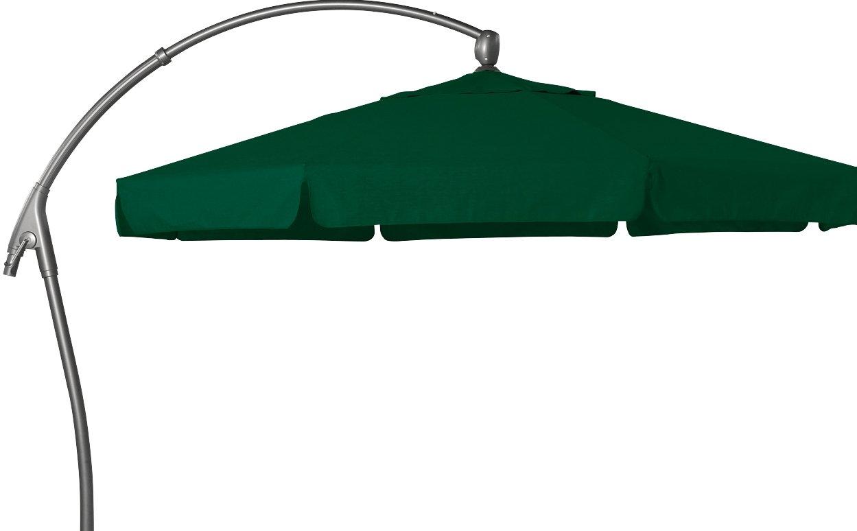 Hartman Ampelschirm 350 cm Scope dunkelgrün Sonnenschirm Sonnenschutz Alu Textil Parasol