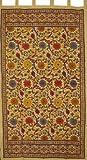 Cheap Sunflower Print Tab Top Curtain Drape Panel Cotton 44″ x 88″ Yellow