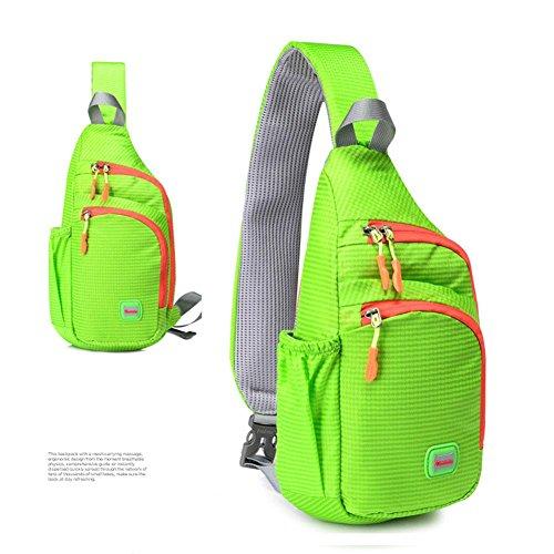 Gran Nylon Hombres En 7 Green Mujeres Pecho Usable Capacidad Y Viaje Xbctb Ocio Impermeable Bicicleta Bolso Mochila De Inches Escuela Andar qW6gwwB7pS