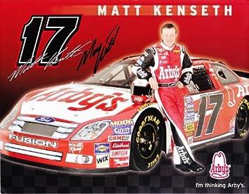 AUTOGRAPHED 2007 Matt Kenseth 17 Arbys Racing Team Busch Series