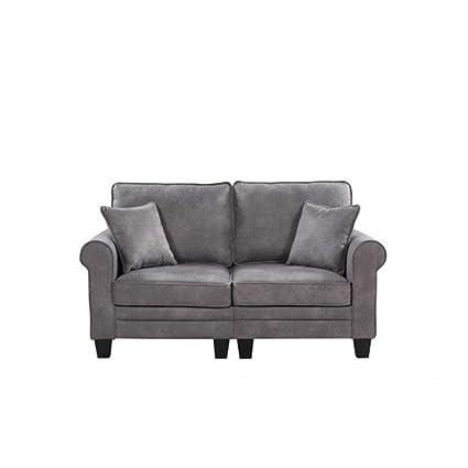 Amazon.com: ZHONGYUE Sofa, Loveseat (Color : Gray): Kitchen ...