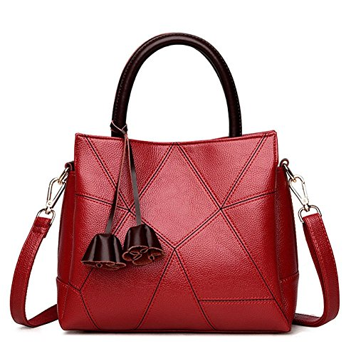 Shoulder Winered Simple Shoulder Handbag Women's Mum Bags Messenger Bags Bag Bag Fashion qP1xxwz84