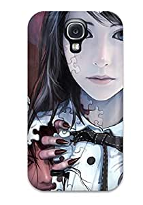 Faddish Phone Dark Demons Fantasy Abstract Fantasy Case For Galaxy S4 / Perfect Case Cover