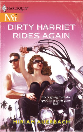book cover of Dirty Harriet Rides Again