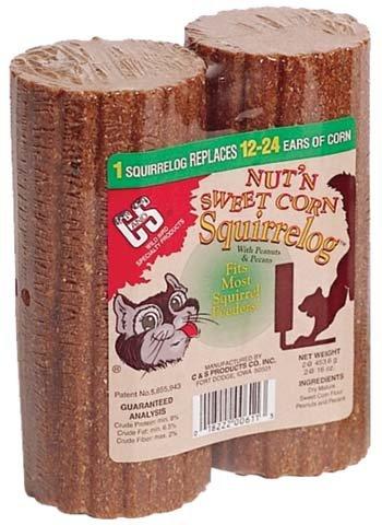 Corn Refill Squirrelog - Nut N Sweet Corn Squirrelog Refill