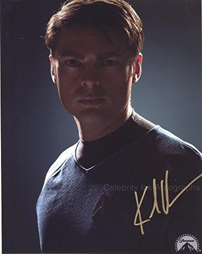 "KARL URBAN as Dr. ""Bones"" McCoy - Star Trek GENUINE AUTOGRAPH"