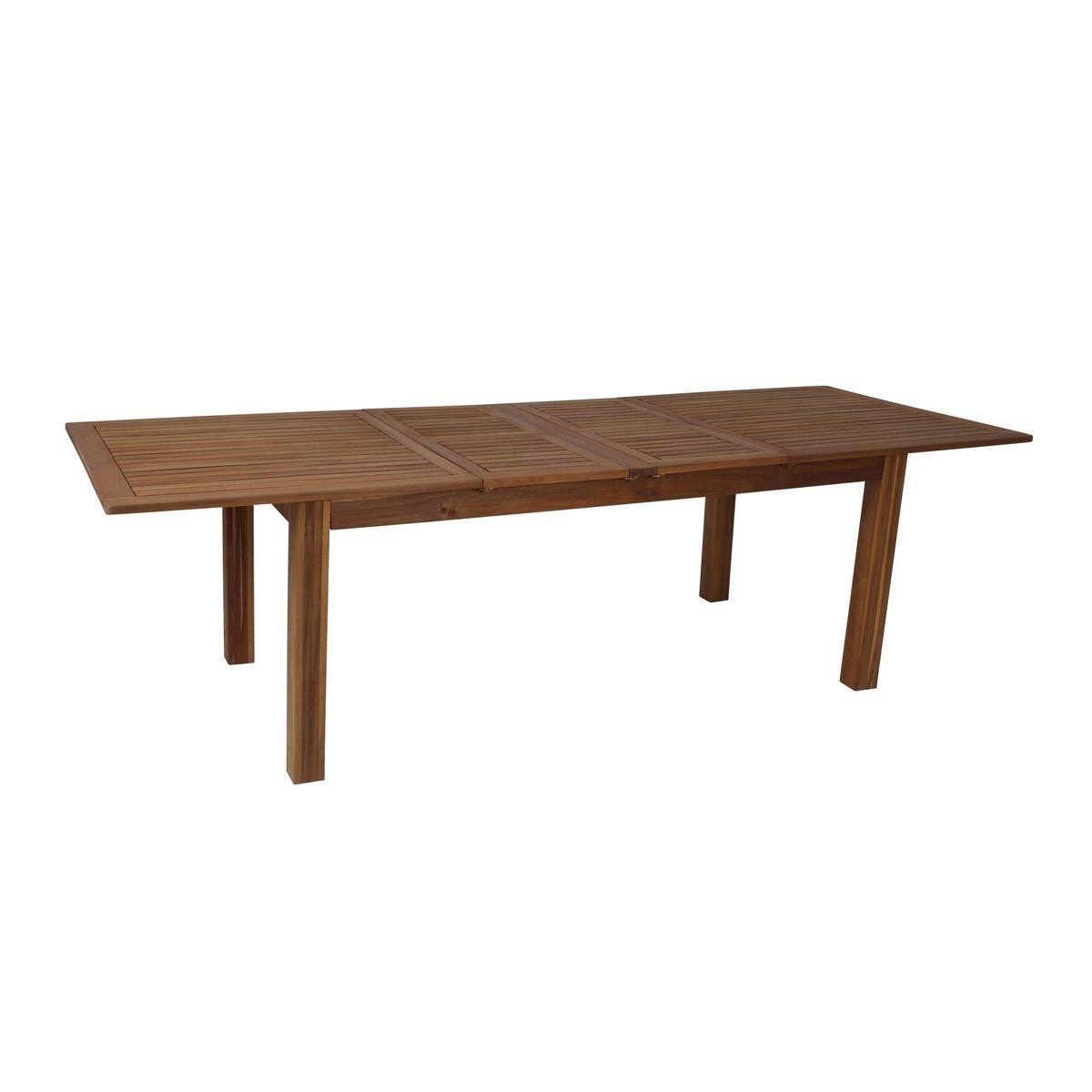 Greemotion Esstisch Ausziehbar Borkum   Gartentisch Aus Akazie Massiv   Ausziehbarer  Tisch Aus Holz   Outdoor