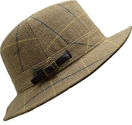UPC 636202807736, August Accessories Classic Check Fedora Fedora One Size