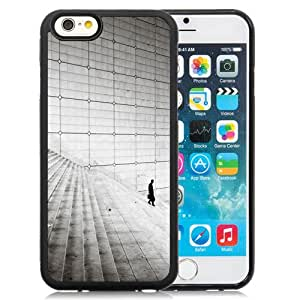 Fashion DIY Custom Designed iPhone 6 4.7 Inch TPU Phone Case For Business Man Walking On The Stairs Phone Case Cover