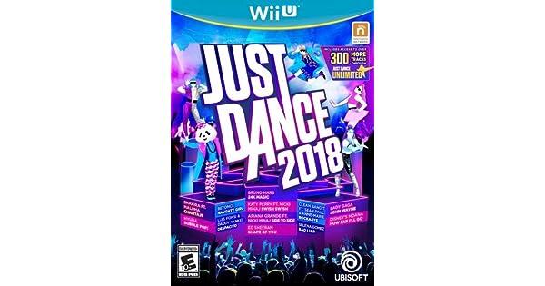 Amazon com: Just Dance 2018 - Wii U: Ubisoft: Video Games