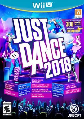 Just Dance 2018 - Wii U (Best Nintendo Wii U Games 2019)