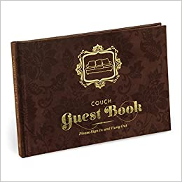 f262f82926b Knock Knock Couch Guest Book  Knock Knock  9781601066275  Amazon.com  Books