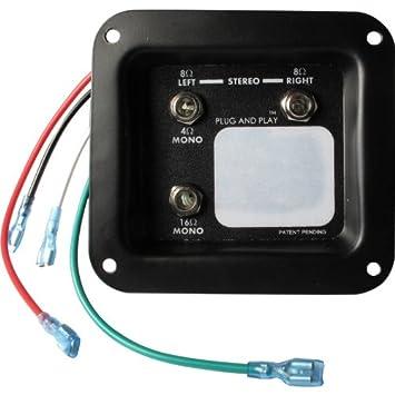 Amazon.com: Jack plate - Mono/Stereo Plug and Play: Musical ...