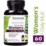 Emerald Laboratories - Women's 45+ Multi Vit-A-Min (1-Daily) - with CoQ10, Vitamin K2 (MK-7) & Extra Calcium - 60 Vegetable Capsules