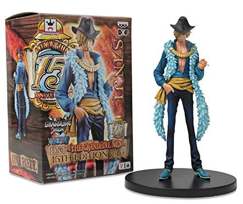 "Banpresto One Piece The Grandline Men 15th Edition Vol.6 DXF 7"" Sanji Action Figure"