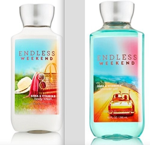 Bath and Body Works Endless Weekend Body Lotion and Shower Gel Gift Set
