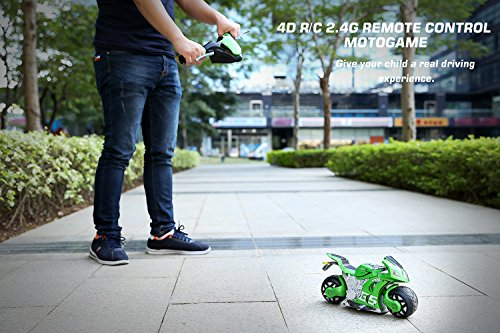 Review Zooawa Remote Control Motorbike,