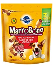 PEDIGREE MARROBONE Medium Dog Treats - Beef Flavour, 3kg Pouch
