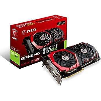 MSI Gaming GeForce GTX 1080 8GB GDDR5X SLI DirectX 12 VR Ready Graphics Card (GTX 1080 GAMING X 8G)