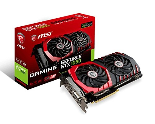 MSI Gaming GeForce GTX 1080 8GB GDDR5X SLI DirectX 12 VR Ready Graphics Card (GTX 1080 GAMING X 8G) by MSI