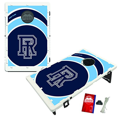 Rhode Island University of Rams Baggo Bean Bag Toss Cornhole Game Vortex Design by Victory Tailgate
