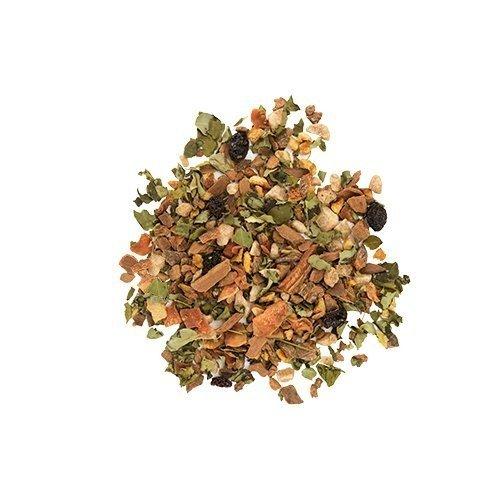 Flowering Tea, Cinnamon Bun Herbal Loose Leaf Flowering Teas, With Spices