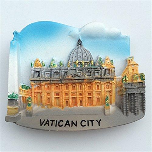 lvedu recuerdos de viaje de Ciudad del Vaticano 3d imanes de ...