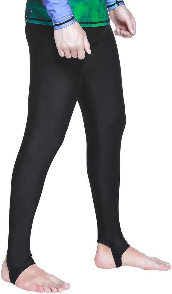 Dwawoo Pantalons de Bain Slips de Bain Leggings de Surf Collants de Bain Pantalons de Plong/ée Longs Pantalons de Sports Nautiques Pantalon pour Combinaison de Kayak de Natation