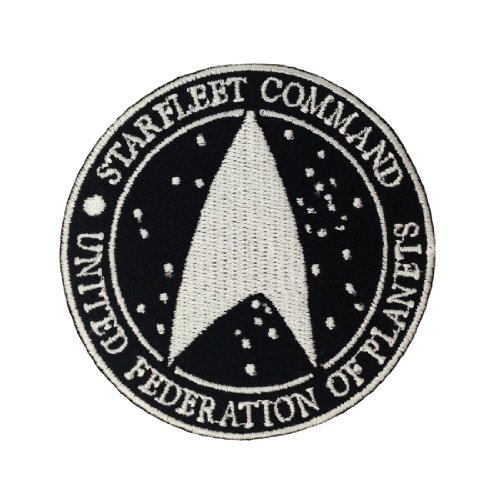 Star Trek The Movie Logo II Embroidered Iron Patches (Captain Kirk Outfit)