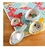 #8: Pioneer Woman Willow Ceramic Measuring Scoop Set