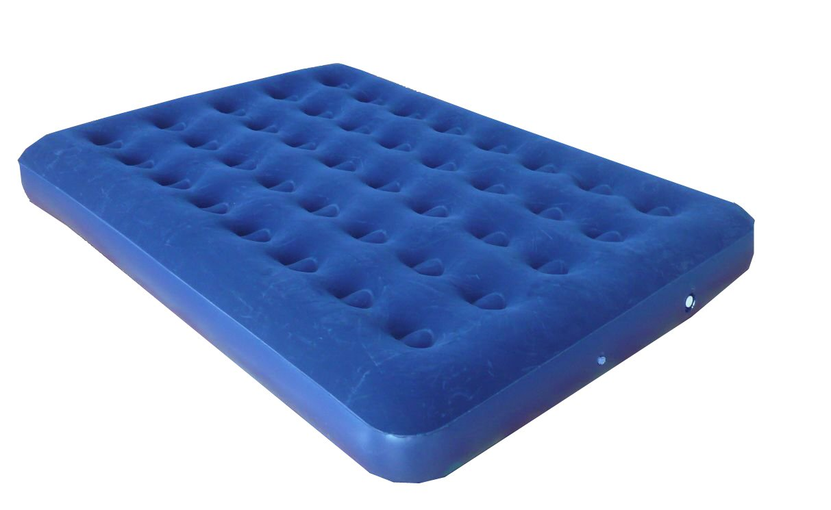 Double size air mattress (Size: 73''x54''x7.5'')
