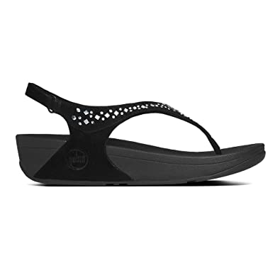 6756edd416e1 FitFlop NOVY Slip On Ankle Strap Flat Low Heel Uk Size 3 4 5 6 7 8 ...