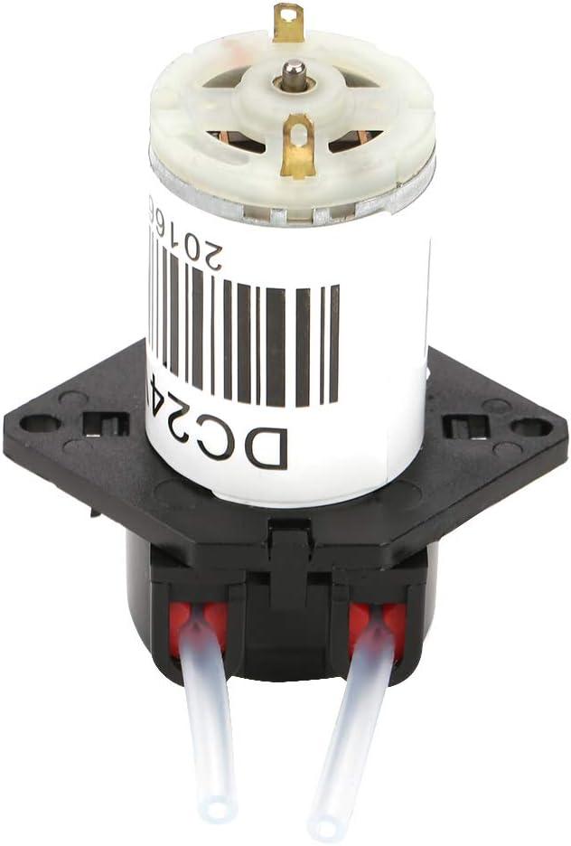 Peristaltic Peristaltic Pump Embedded Design Peristaltic Pump 6.5 5.5cm Stepper Motor Made of Plastic