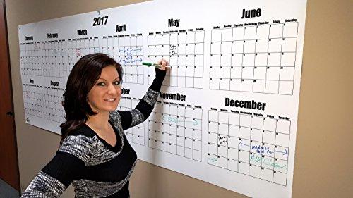 Erase Wall Calendar 2017 Calendar product image