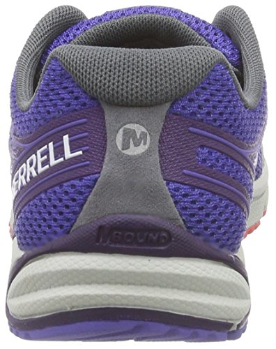 Donna Blue bright Access Da Yellow Corsa Scarpe 4 lt blau Arc Bare Blu Merrell paxPw00