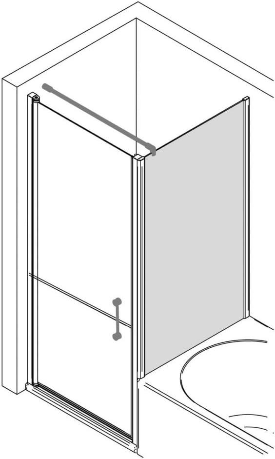 Cuidado ducha – más bajos de la pared para drehtür 75 cm (B), SM ...