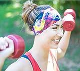 KALILY 12PCS Headband Bandana - Versatile Sports