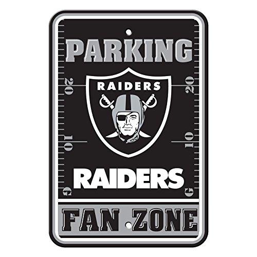 (Official National Football League Fan Shop Authentic NFL Parking Sign (Oakland Raiders))