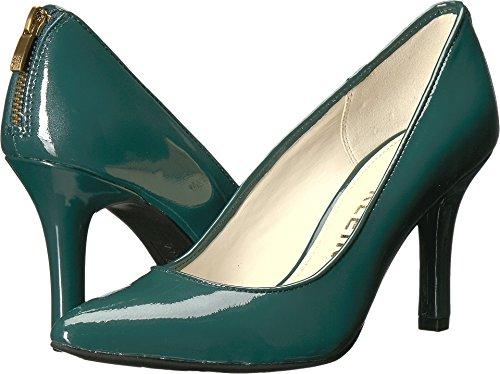 Anne Klein Patent Leather Shoes - Anne Klein Women's Falicia Patent Pump, Dark Green, 7 M US