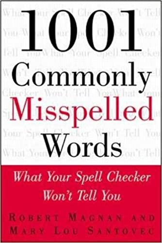 Amazon.com: 1001 Commonly Misspelled Words: What Your Spell ...