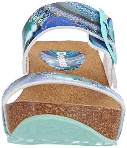 mujer 5024 Sandalias Desigual material sintético de turquesa vestir SHOES para Türkis SAMANTA de qwHUw4pz7