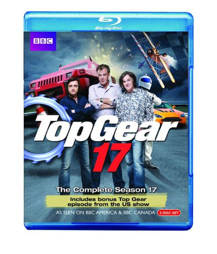 Blu-ray : Top Gear 17: The Complete Season 17 (3 Disc)