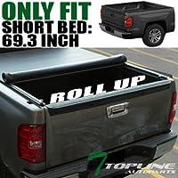 Topline Autopart Lo-Roll Soft Tonneau Cover 04-07 Chevy...