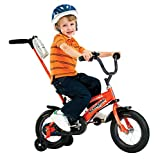 Schwinn Boys' 12-Inch Grit Bike,Orange