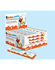 Kinder Chocolate Single Bars, 36 Count Individually Wrapped Milk Chocolate Bars, 21 Grams
