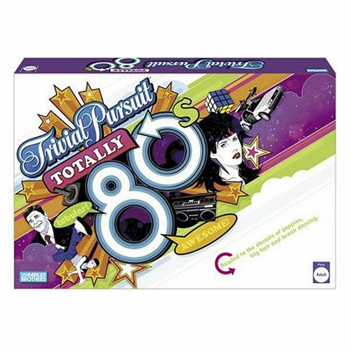 (Hasbro Gaming Trivial Pursuit: Totally 80s)