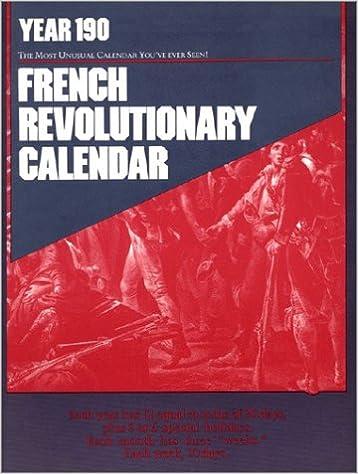 Amazon Com French Revolutionary Calendar 9780918432438 James
