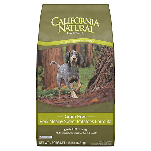 California Natural Grain Free Pork Dog Food 15lb