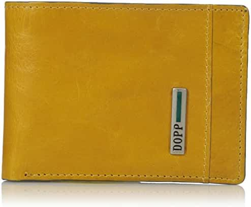 Dopp Men's Beta Rfid Blocking Leather Front Pocket Slimfold Wallet