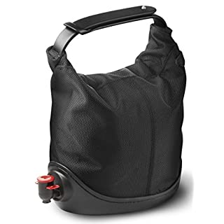 Menu Baggy Winecoat Wine Bag Tote, Black